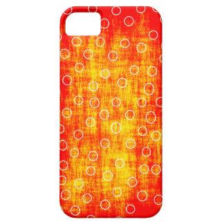 Orange dots case iPhone 5 cover