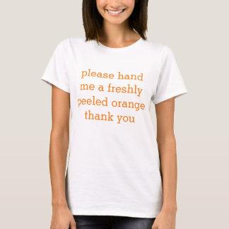 orange emoji T-Shirt