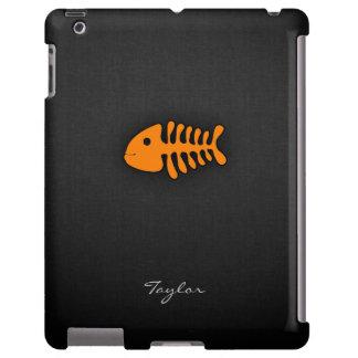 Orange Fish Bones