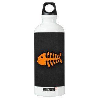 Orange Fish Bones SIGG Traveller 0.6L Water Bottle
