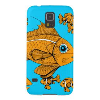 Orange Fish Galaxy Nexus Case