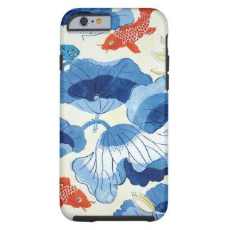 Orange fish design iphone6 case tough iPhone 6 case