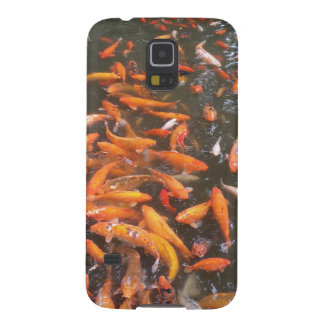 Orange Fish Galaxy S5 Covers