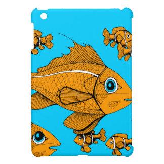 Orange Fish Case For The iPad Mini