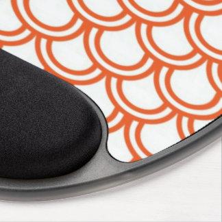 Orange Fish Scales Gel Mousemat Gel Mouse Pad