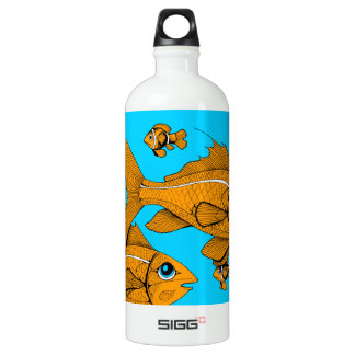 Orange Fish SIGG Traveller 1.0L Water Bottle