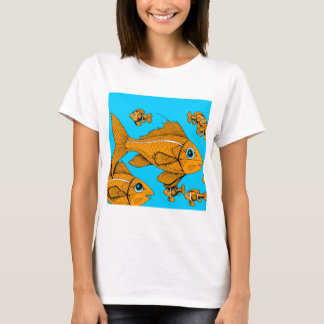 Orange Fish T-Shirt