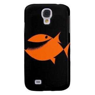 Orange fish tales samsung galaxy s4 covers