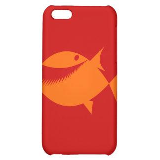 Orange fish tales iPhone 5C cases