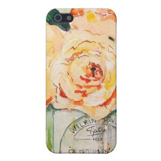 Orange Floral iPhone 5 Case