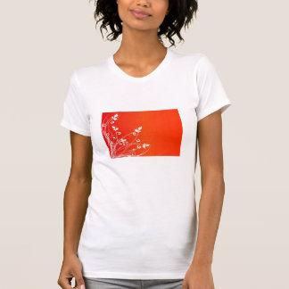 ORANGE FLORAL T-Shirt