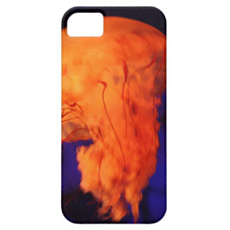 Orange Florescent Jellyfish iPhone 5 Covers