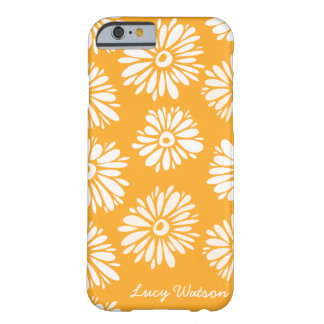 Orange Flowers iPhone 6 case Barely There iPhone 6 Case
