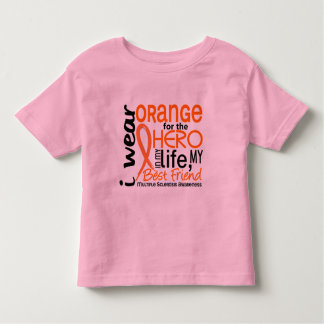 Orange For Hero 2 Best Friend MS Tee Shirt