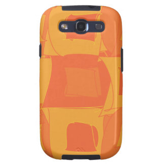 Orange Fruit Abstract Original Design Pattern Samsung Galaxy SIII Cases