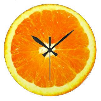 Orange fruit Clock