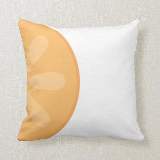 Orange Fruit Graphic Pillow Cushions