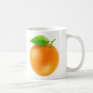 Orange fruit mug