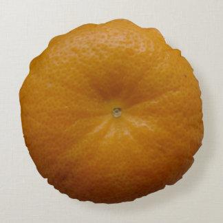 Orange Fruit Round Cushion