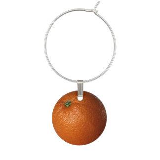 Orange Fruit Wine Charm