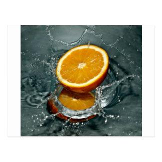 Orange Fruits Postcards