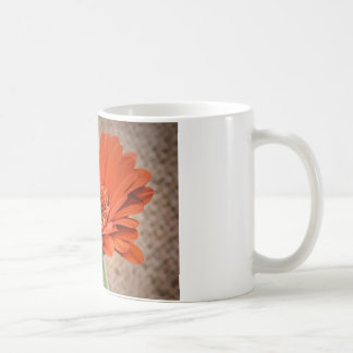 Orange Gerbera Basic White Mug