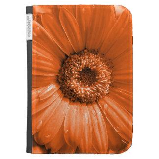 Orange Gerbera Daisy Kindle 3G Covers