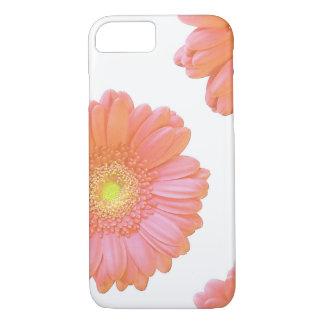 Orange gerbera daisy iPhone 7 case