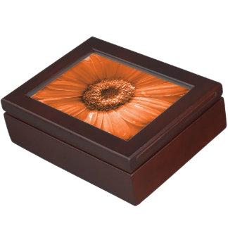 Orange Gerbera Daisy Memory Boxes