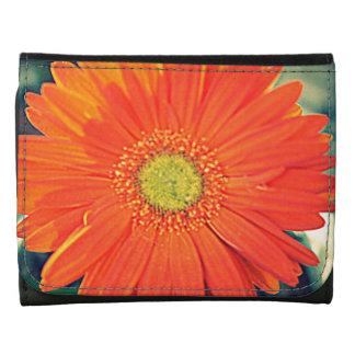 Orange Gerbera Wallet