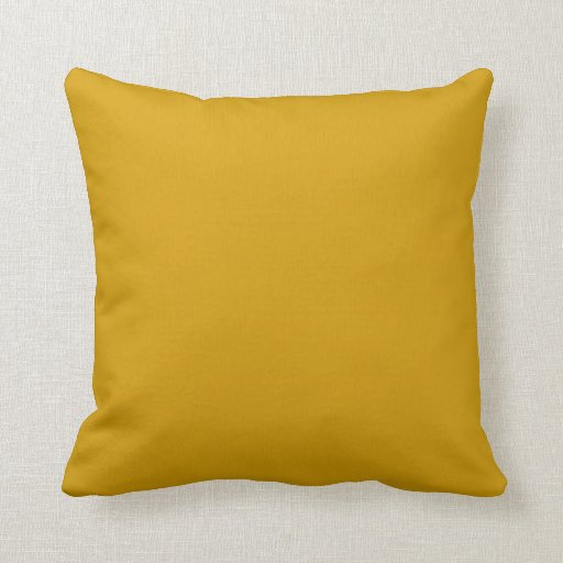 Orange Gold Background on a Pillow