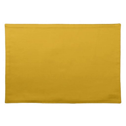 Orange Gold Background on a Placemat