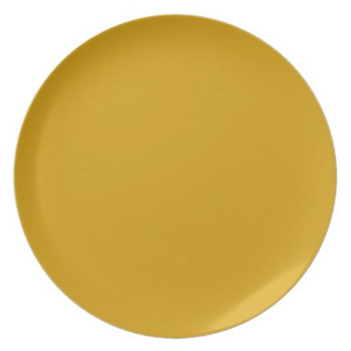 Orange Gold  Background on a Plate