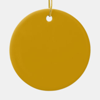 Orange Gold Background on an Ornament