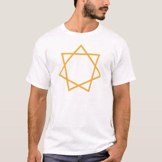 Orange Heptagram T-Shirt
