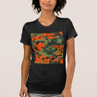 Orange Hunter Camo T-shirts