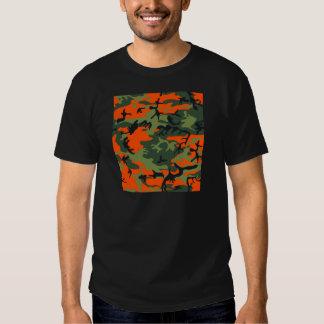 Orange Hunter Camo Tees