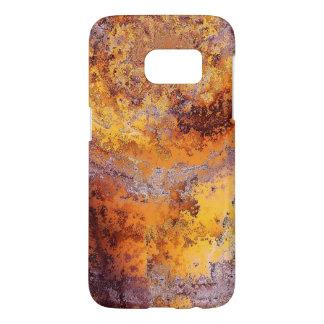 Orange Marble Phone Case
