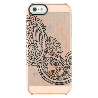 Orange Mehndi Motif Uncommon iPhone 5 Case