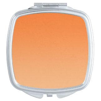 Orange Ombre Compact Mirror