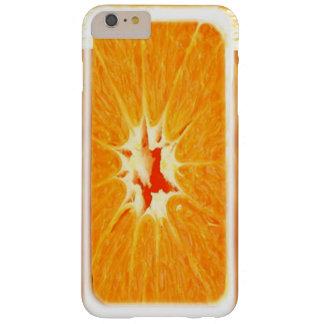 ORANGE ORANGE FRUIT BARELY THERE iPhone 6 PLUS CASE