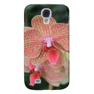 Orange Orchids Galaxy S4 Case