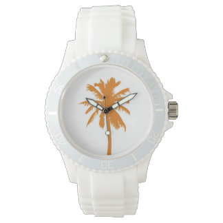 Orange Palm Tree Watch