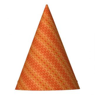 orange party hat