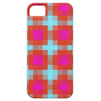 Orange Pink Blue Pixels iPhone 5 Cover