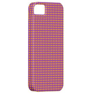 Orange Pink Pattern Mobile Case