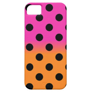 Orange Pink Polka Dot iPhone 5 Case
