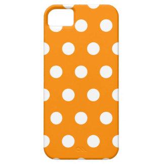Orange Polka Dot iPhone 5 Case