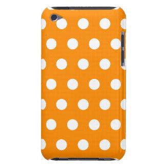 Orange Polka Dot iPod Touch Case