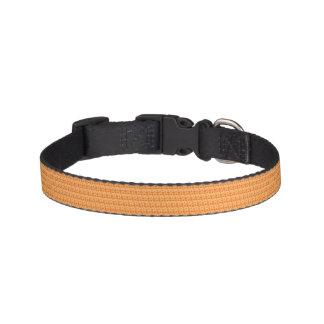 Orange Polka Dots Pet Collar